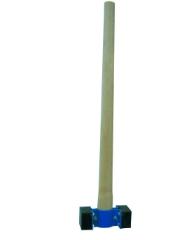 Fliserettehammer, Træskaft