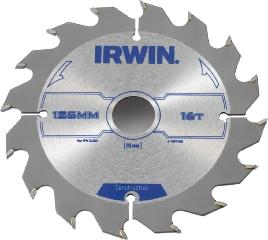 Irwin Rundsavsklinge, Ø 125 mm, 16 Td