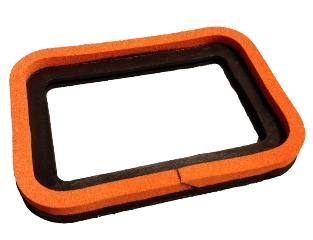 Sugekopring, 300x400 mm, Orange