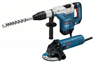 Bosch Borehammer/Vinkelslibersæt