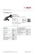 Produktdatablad, Bosch GWS 18 V-150