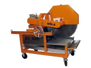 Gölz BS1000, Stenskæremaskine