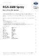 Teknisk datablad, Kema Montagepasta RGA-1100, Spray, 500 ml