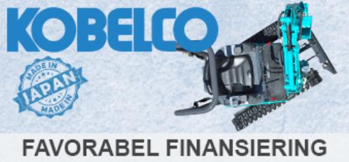 Kampagne: Finansiering af Kobelco Minigravere