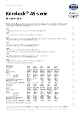 Teknisk datablad, Kema Skruesikring AS-70