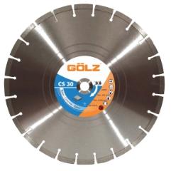 Gölz CS 30, Ø450x25,4 mm, Diamantskive