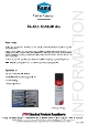 Teknisk datablad, Kema Kontaktrens EL-K80, Spray, 500 ml