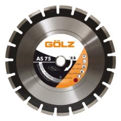 Gölz AS75, Ø500x25,4 mm, Diamantskive