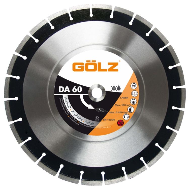 Gölz DA 60, Ø300x20,0 mm, Diamantskive