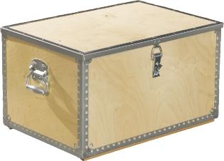Værktøjskasse m/låg, 880 mm