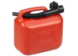 Benzindunk, Rød, 5 L