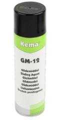 Kema Glidemiddel GM-12, Spray, 500 ml