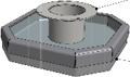 Hamevac Sugekop 280x280 mm, t/ VTH-150-BL