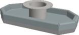 Hamevac Sugekop 200x400 mm, t/ VTH-150-BL