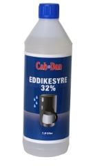 Cab-Dan Eddikesyre 32 %, 1 l