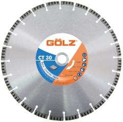 Gölz CT 30, Ø600x25,4 mm, Diamantskive