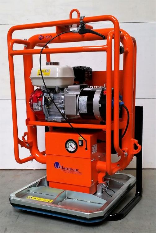 Hamevac VHU-700-BL(R), Vakuumløfter, Radiostyret