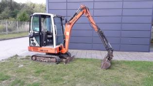 Schaeff/Terex HR20, Brugt minigraver