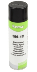 Kema Glidemiddel GM-12, Spray, 500 ml