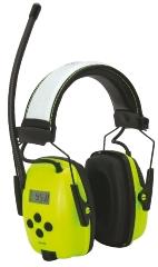 Høreværn, m/radio, AUX-indgang