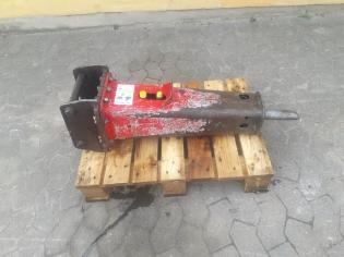 Rotair OLS95, Brugt hydraulikhammer