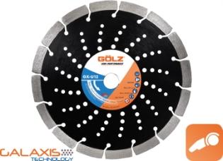 Gölz GX-U12, Ø125, Diamantskive