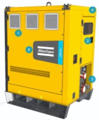 Atlas Copco ZBP45, Batteri PowerBank