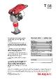 Swepac T58 Stamper Datablad