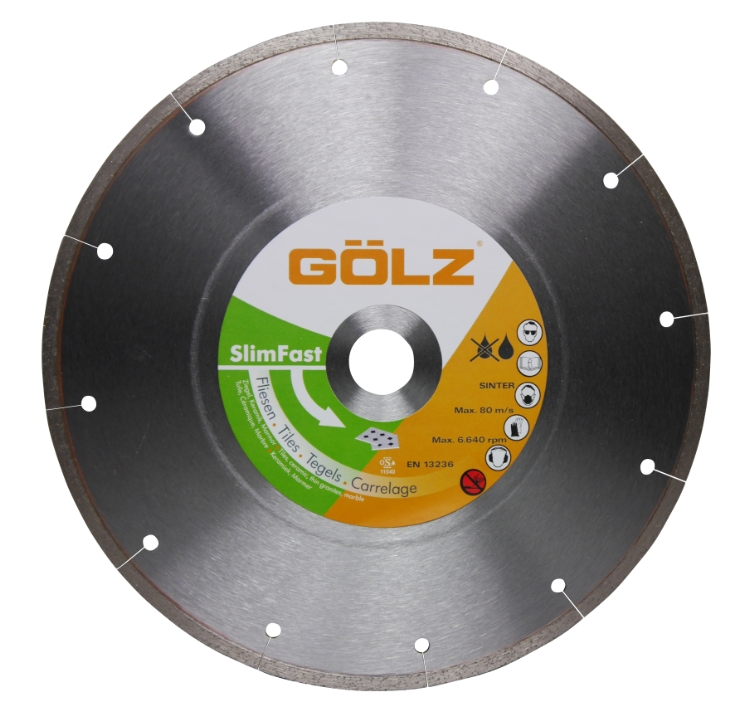 Gölz Slimfast, Ø350x25,4 mm, Diamantskive