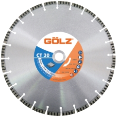 Gölz CT 30, Ø600x25,4 mm, Diamantskive