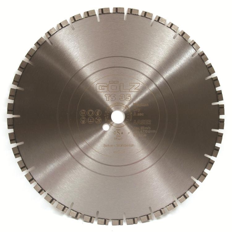 Gölz TS 35, Ø350x25,4/20 mm, Diamantskive