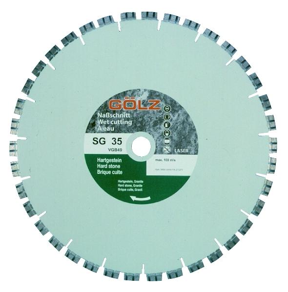 Gölz SG 35, Ø600x25,4 mm, Diamantskive
