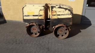 Wacker RT825c, Brugt råjordskompaktor