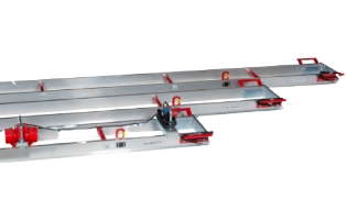 Vibrationsbjælke, SVF4,2, Swepac - 4,2m